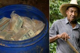 Increible!! . Granjero encuentra enterrados $600 millones del 'tesoro' de Pablo Escobar.