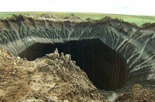 El increible misterio del cráter que llega al fondo de la tierra.