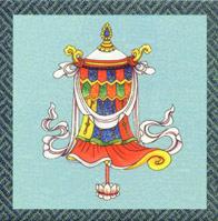 símbolos budistas El estandarte