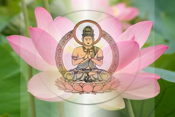 Flor de loto en el budismo