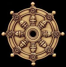 símbolos budistas La rueda del Dharma