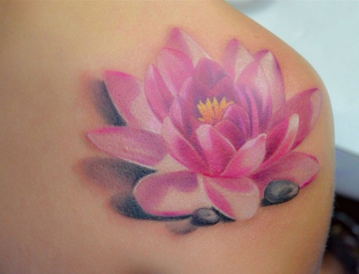 Flor de loto tatuajes