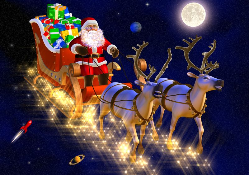 imágenes de Papa Noel