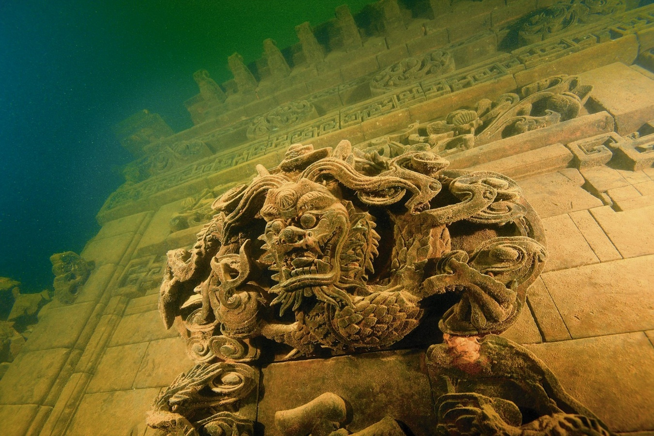 ciudades bajo el mar