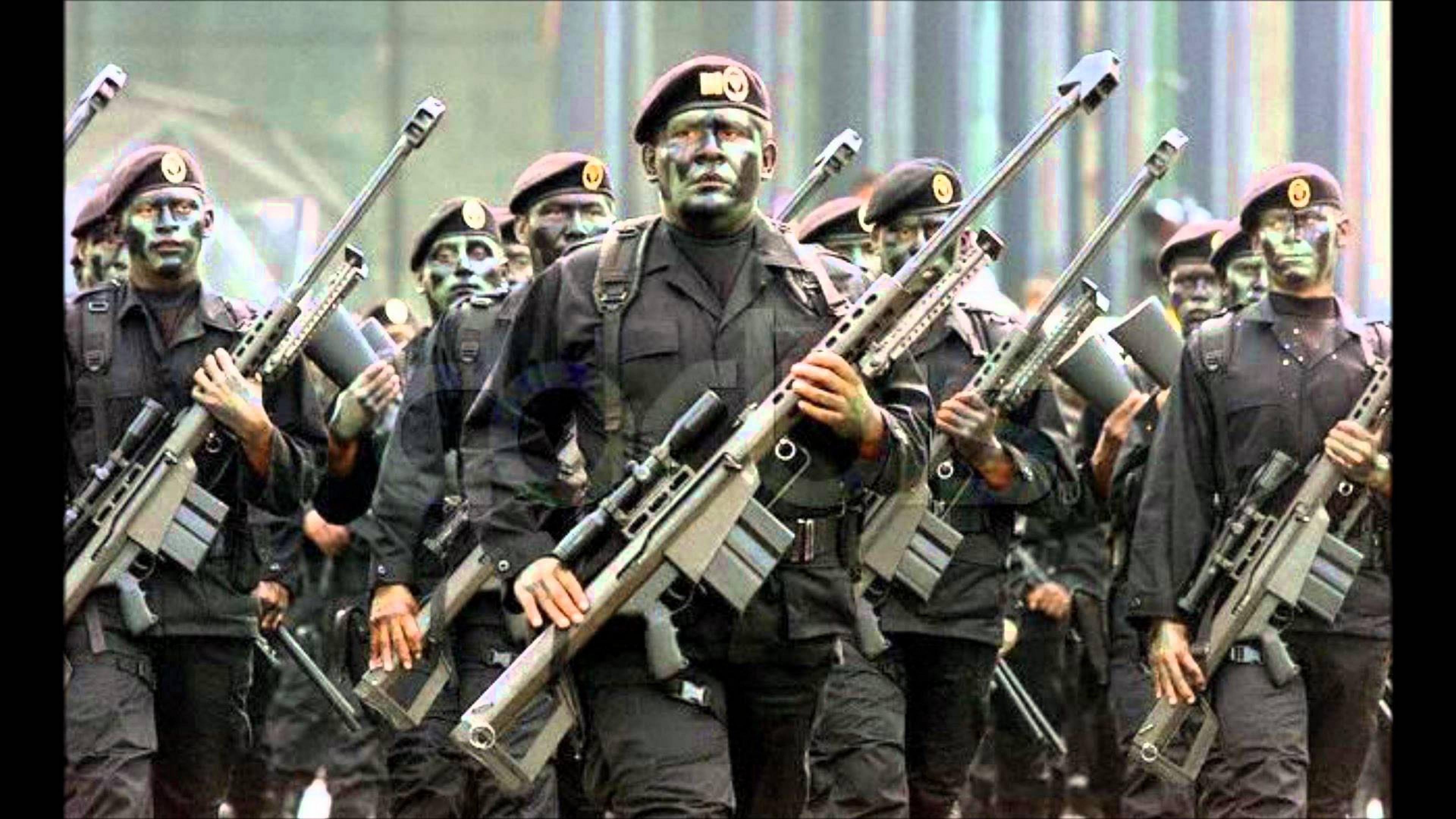Fuerzas Especiales Más Letales Del Mundo. Fuerzas especiales de México