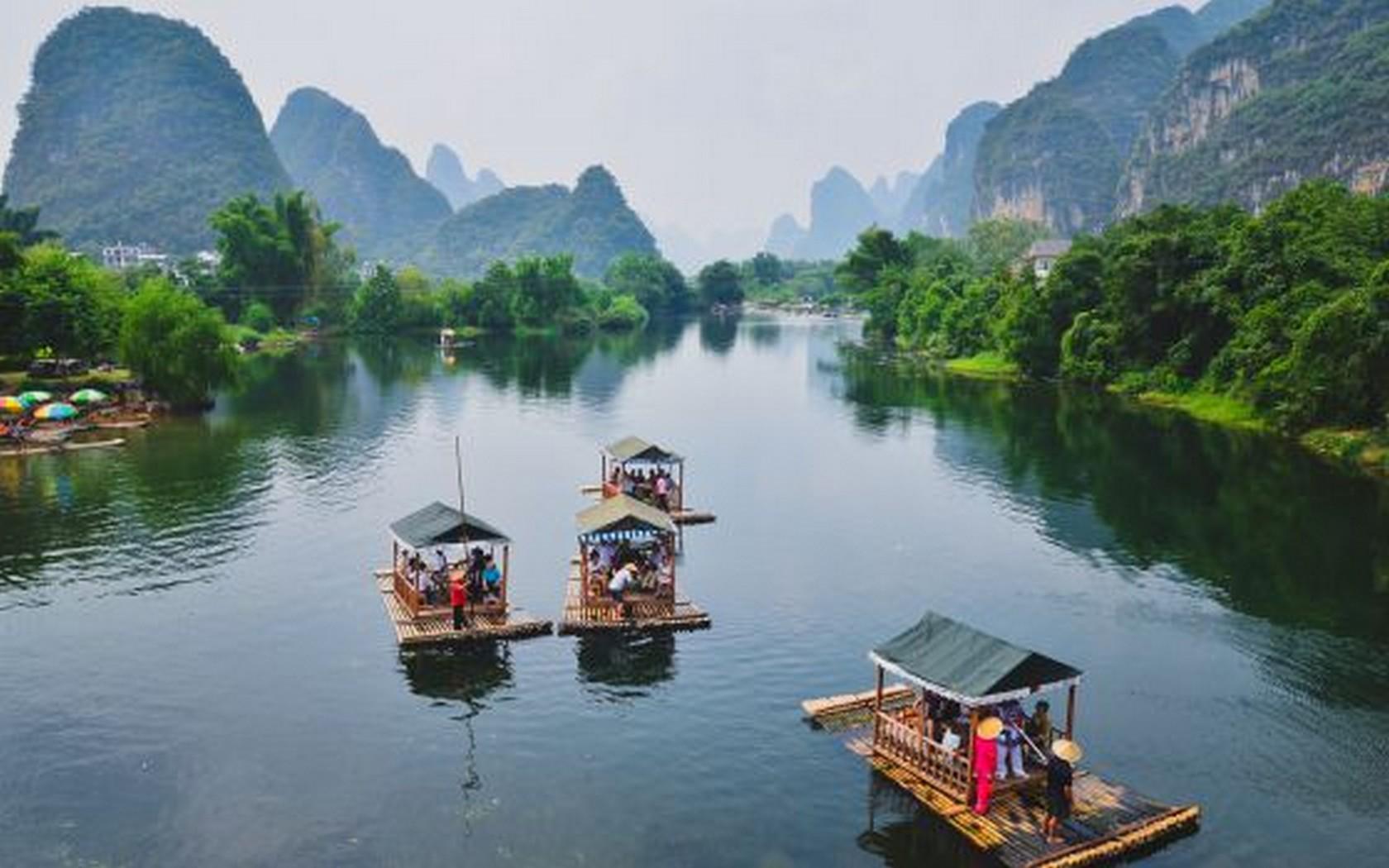 Paisajes en China