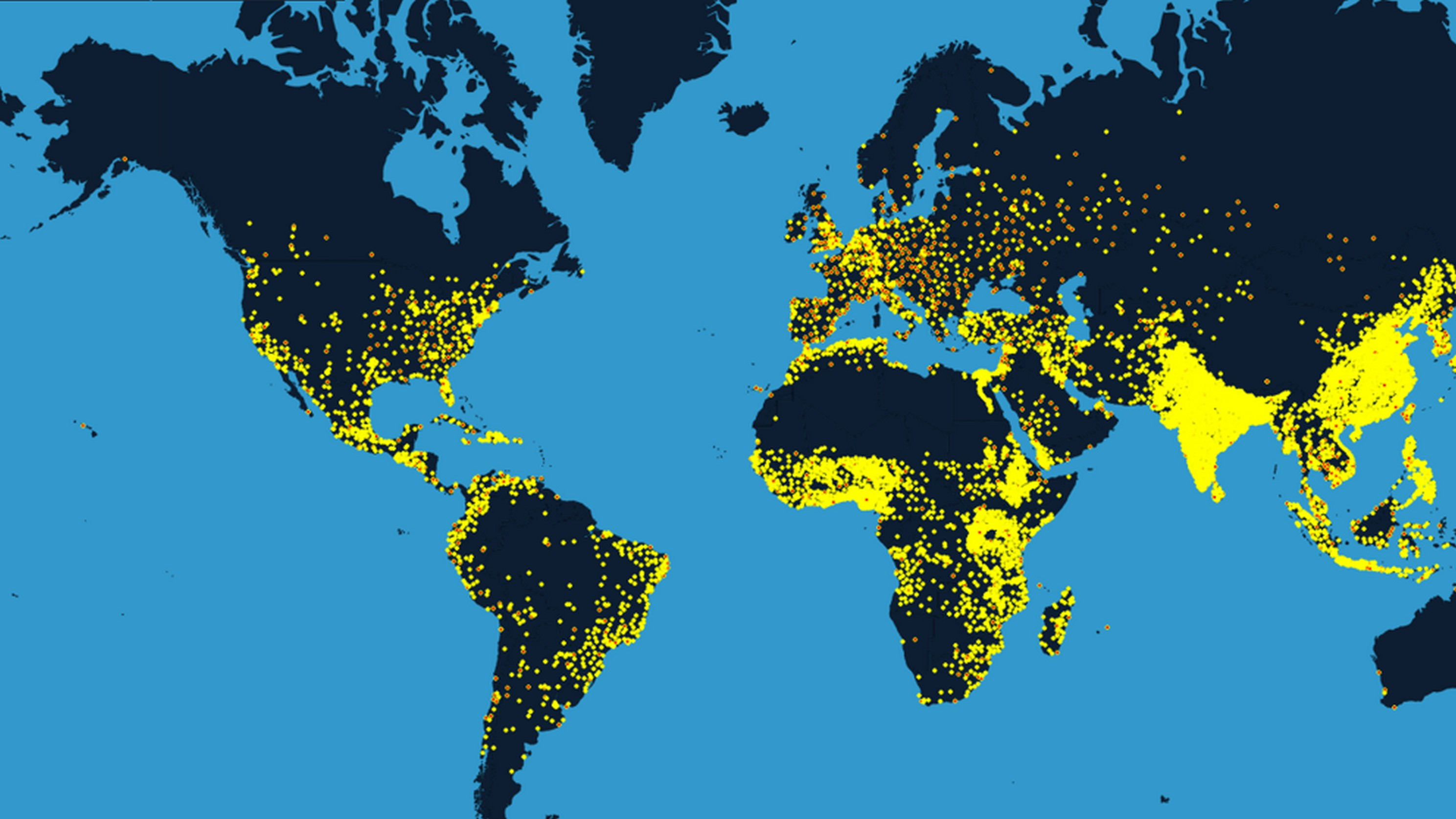 Los países más poblados del mundo