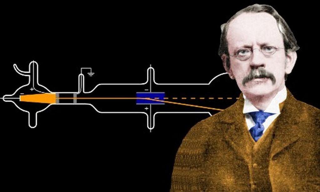 Quién descubrió el electrón