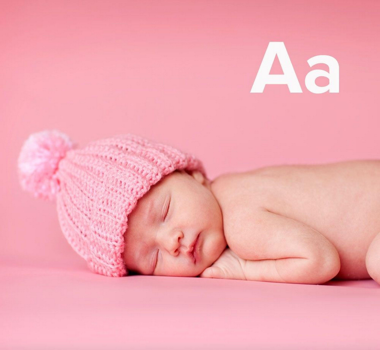 nombres con A para niña